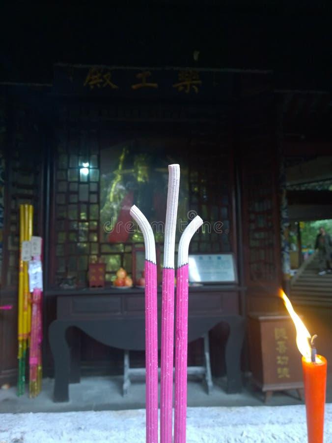 Wuhouci of china royalty free stock image