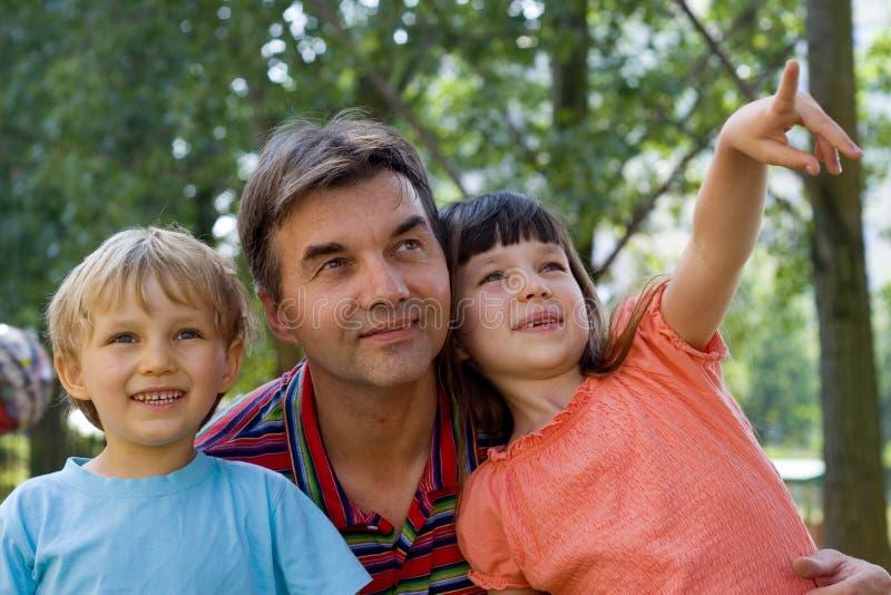 wujku, dzieci fotografia royalty free