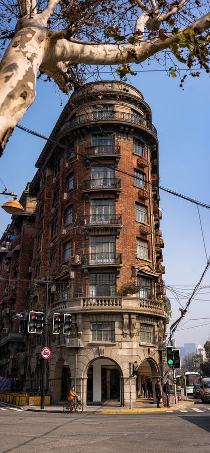 Wukangherenhuis, Xuhui Shanghai, China royalty-vrije stock foto's