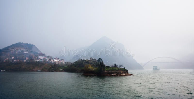 Wukloof van China Chongqing royalty-vrije stock afbeelding