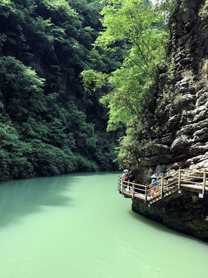Wulingyuan, Κίνα στοκ φωτογραφίες με δικαίωμα ελεύθερης χρήσης