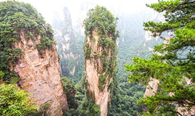 Wulingyuan fotografia stock