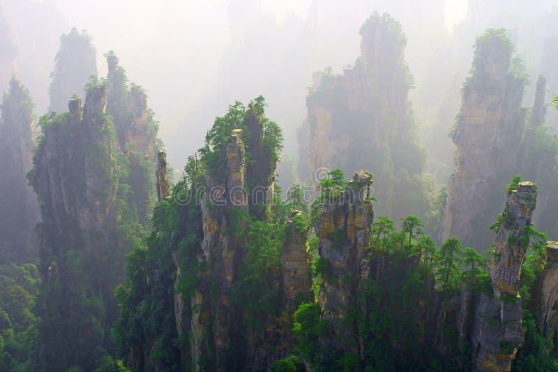 Wulinyuan Scenic Area stock photos