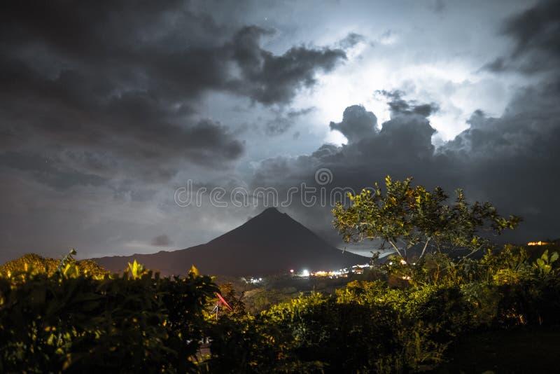 Wulkan Arenal fotografia stock