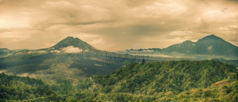 Wulkan Batur zdjęcie royalty free