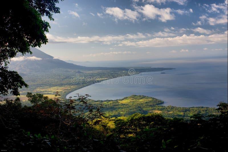 wulkan concepcion Nikaragui zdjęcie stock