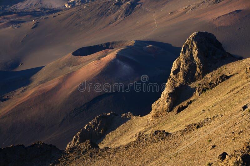 wulkan haleakala śpi obrazy royalty free