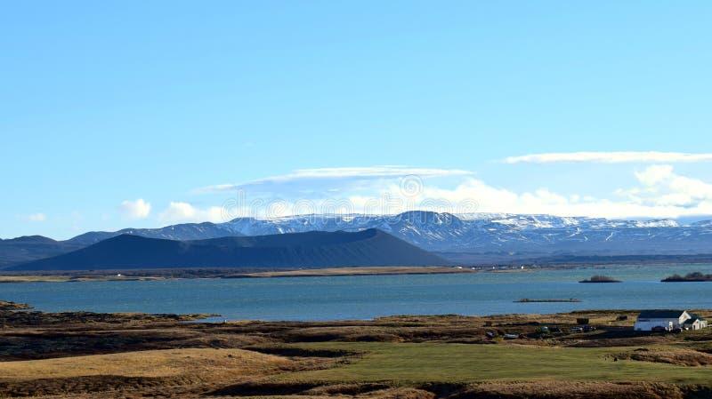 Wulkan na Iceland obrazy royalty free