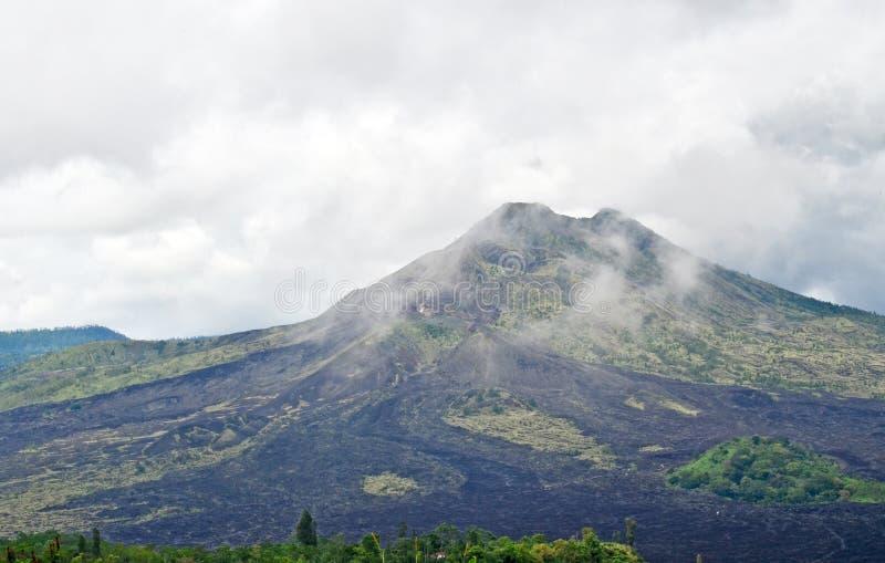 Wulkanu Gunung batur bali Indonezja obrazy royalty free