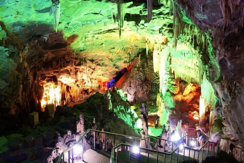 wulong för grottachongqing karst royaltyfria foton