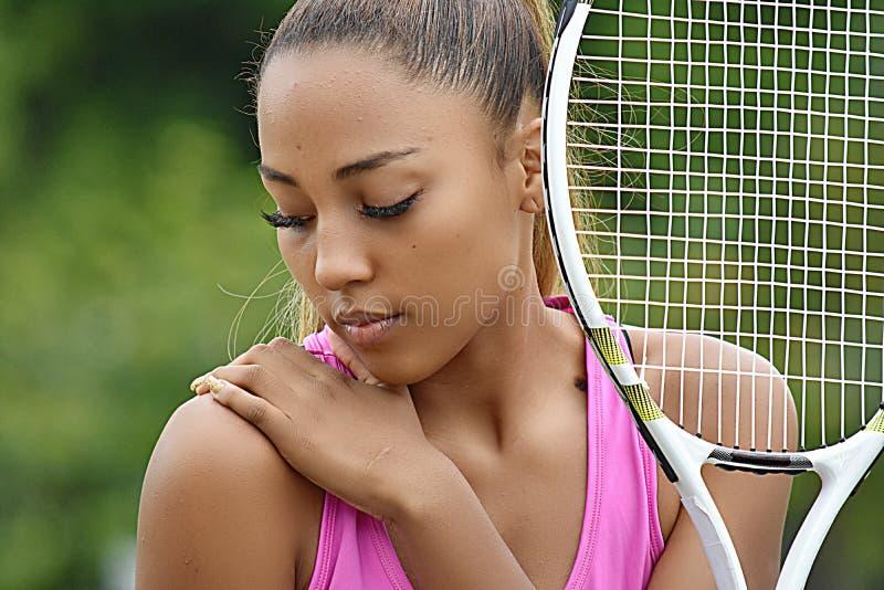 Wunder Jugendliche-Tennis-Spieler stockfotografie