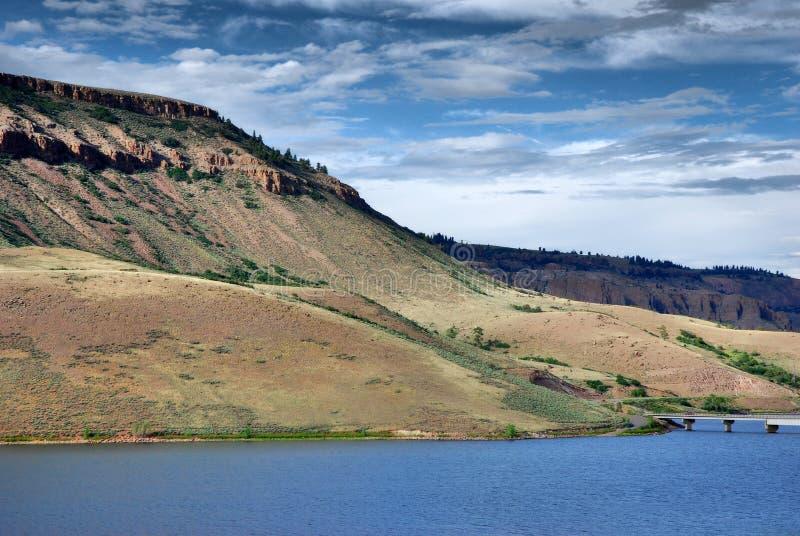 Wunderbare Landschaft, Dillon Pinnacles, Colorado lizenzfreies stockbild