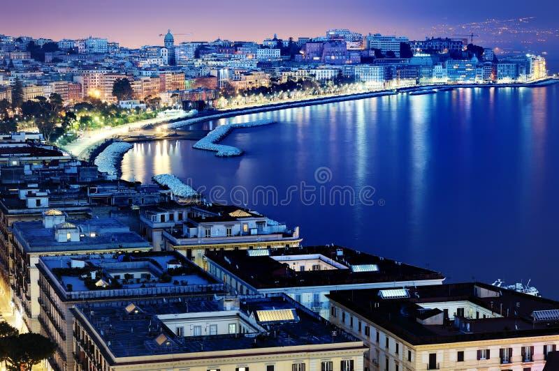 Wunderbarer Neapel-Panoramablick lizenzfreies stockbild