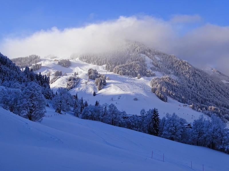 Wunderland dans le Tirol photographie stock libre de droits
