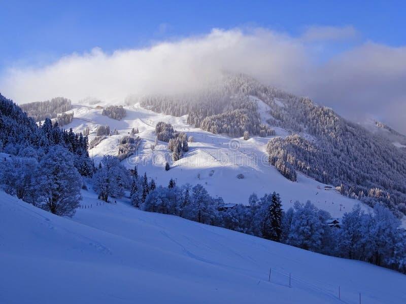 Wunderland in Tirolo fotografia stock libera da diritti