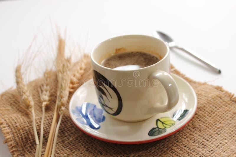 Wundervolles Cup heißer Kaffee lizenzfreies stockfoto