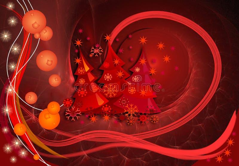 Wundervolles Weihnachten vektor abbildung