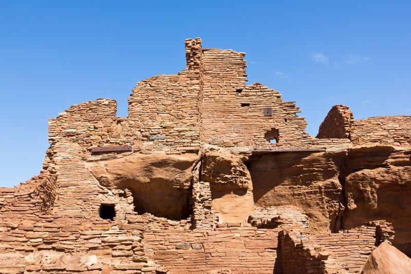 Wupatki ruine des structures photos stock
