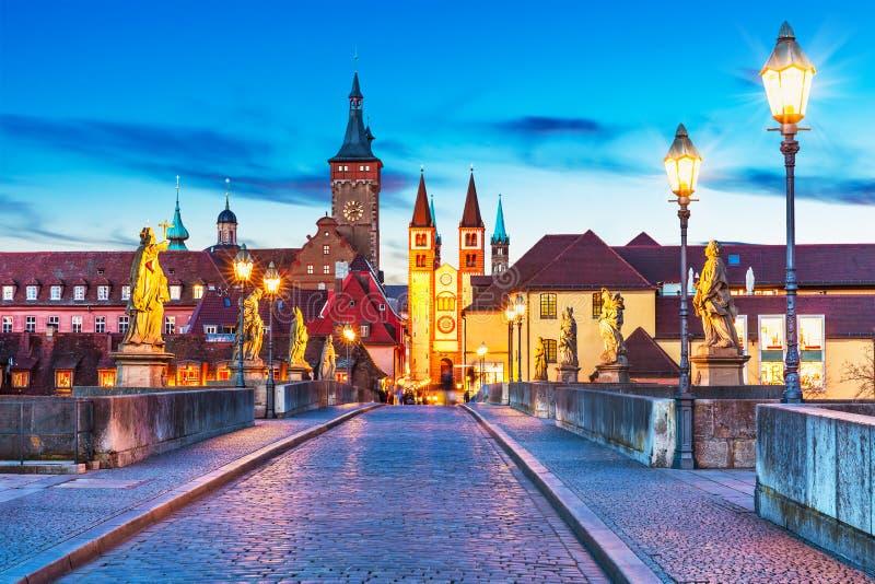Wurzburg, Бавария, Германия стоковые изображения