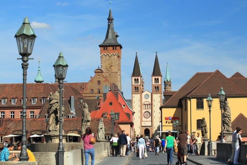 Wurzburg stock images