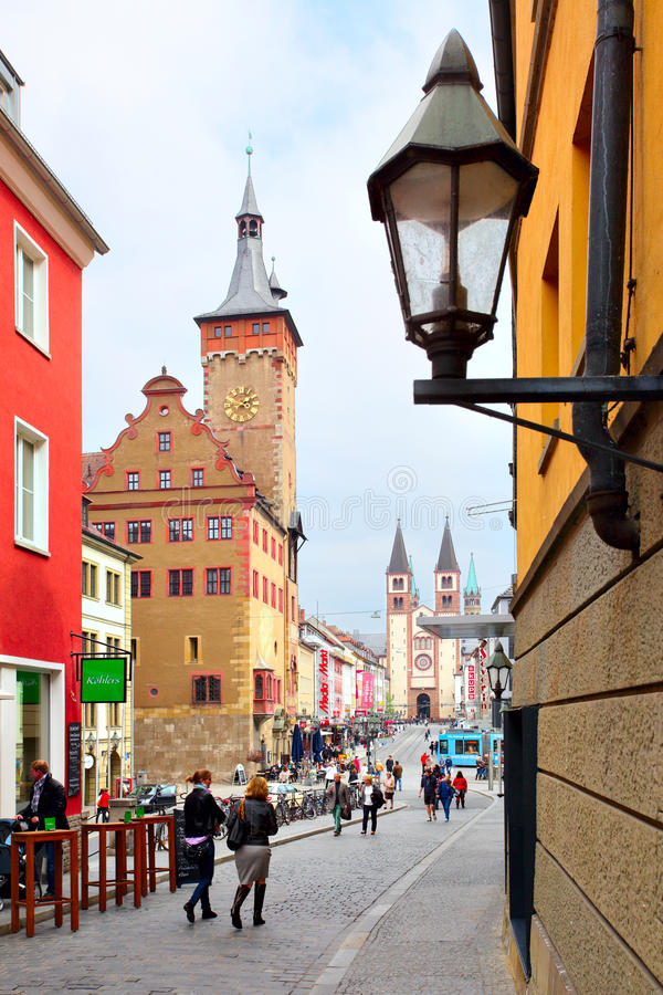 Wurzburg stock fotografie