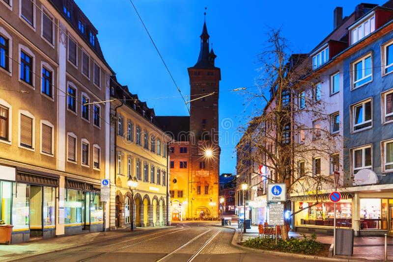 Wurzburg, Baviera, Germania fotografie stock libere da diritti