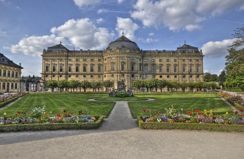Wurzburg Residence, Germany stock images