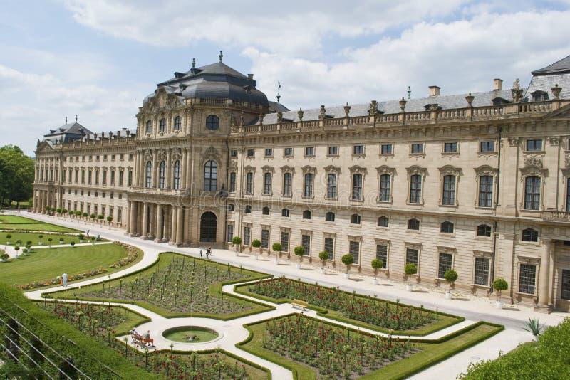 Wurzburg residence royalty free stock images