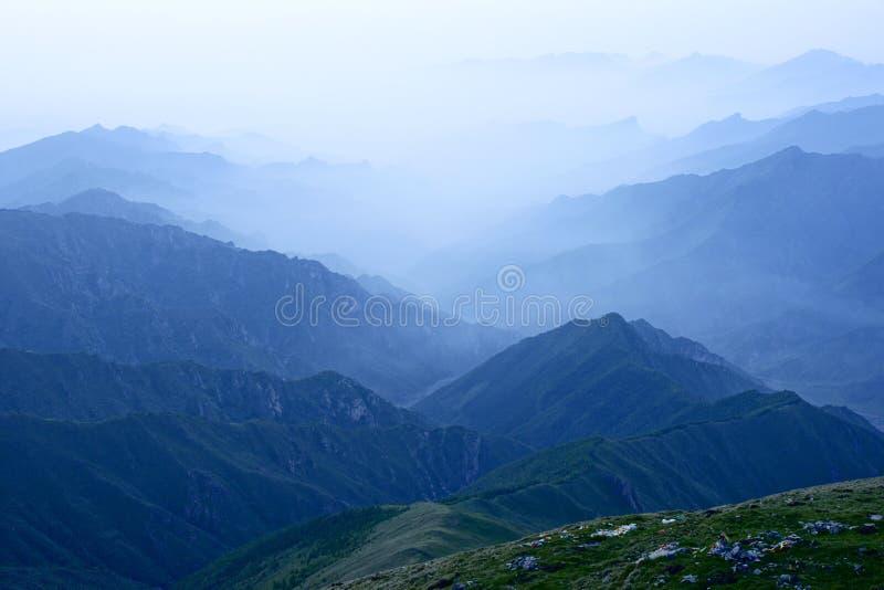 Download Wutai Mountain scenery stock image. Image of scenic, shanxi - 14860079