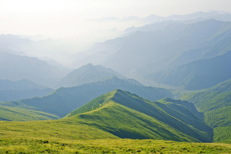 Download Wutai Mountain scenery stock image. Image of clouds, wutai - 14860383