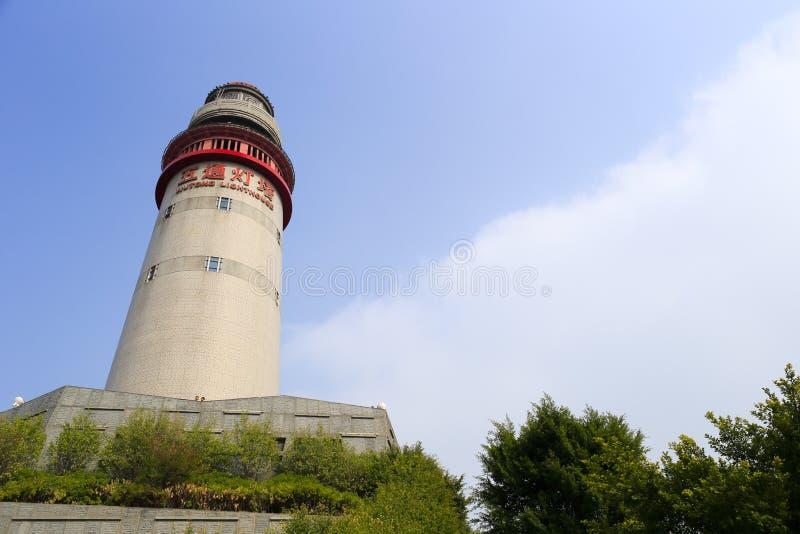 Wutong灯塔 库存照片