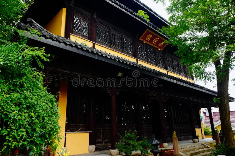 Wuxi Huishan Ancient Town Scenery stock image