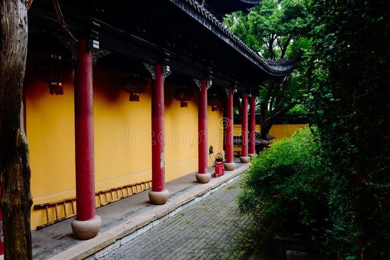 Wuxi Huishan Ancient Town Scenery stock photography