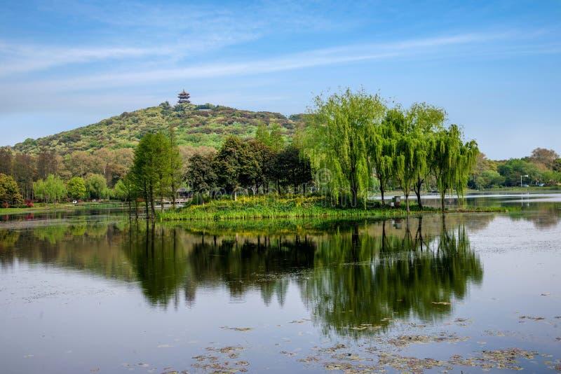 Wuxi Taihu Lake Yuantouzhu pastoral scenery stock photos