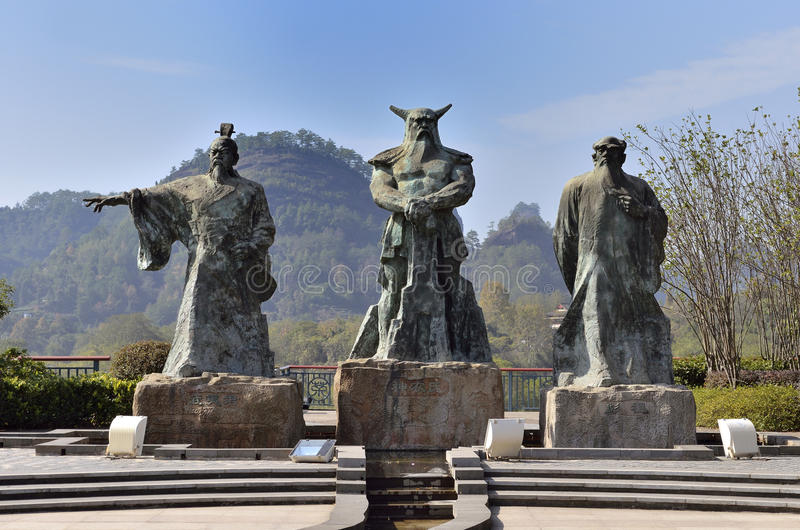 Download Wuyi Chaboyuan stock photo. Image of legend, leaders - 39506932