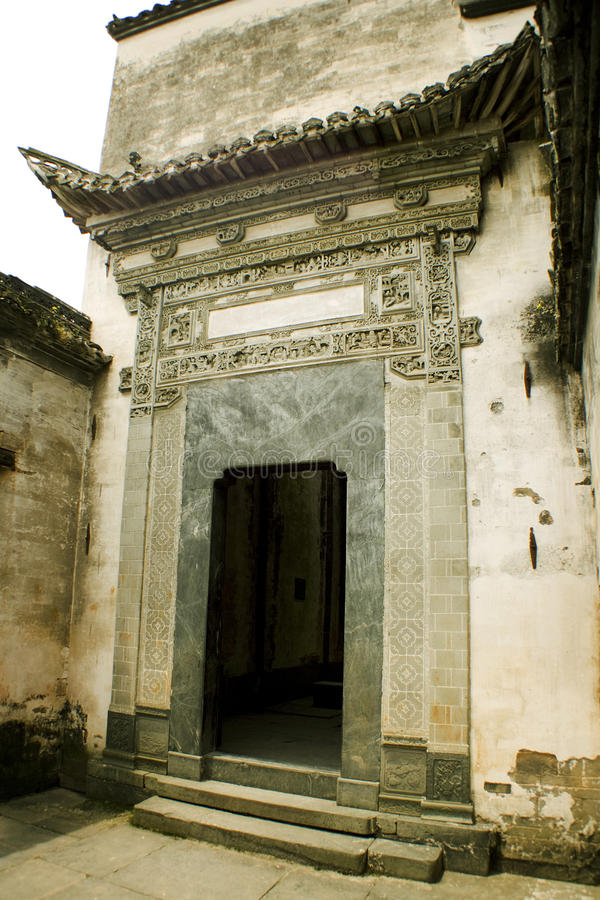 Wuyuan county, china, huizhou architecture royalty free stock photography