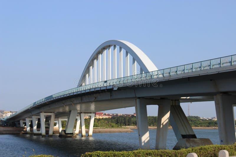 Wuyuan zatoki Tianyuan most zdjęcie royalty free