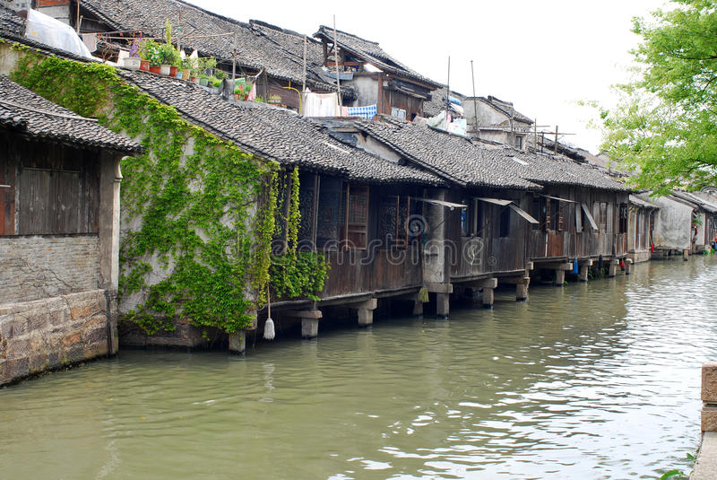 Wuzhen, Chine photo libre de droits