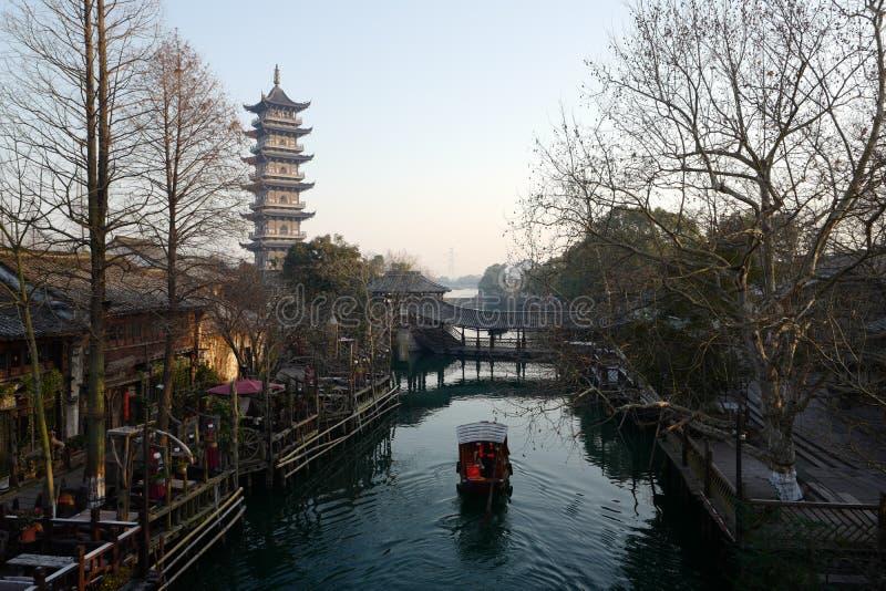 Wuzhen Kina fotografering för bildbyråer