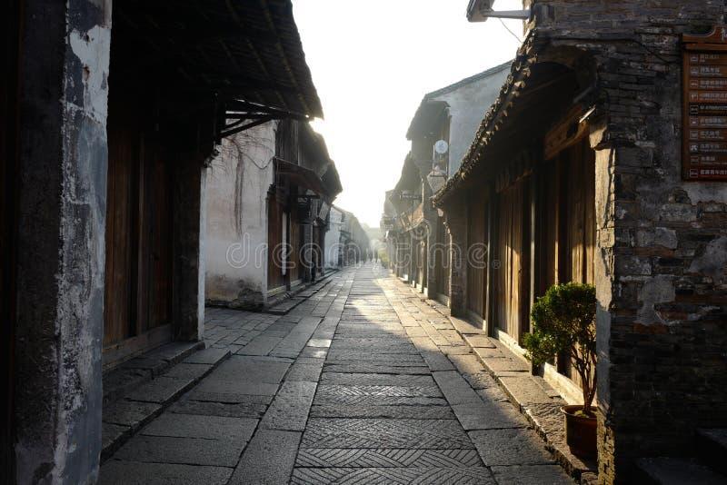 Wuzhen Kina arkivfoton