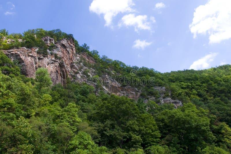 WV Mountain Ridge stock photography