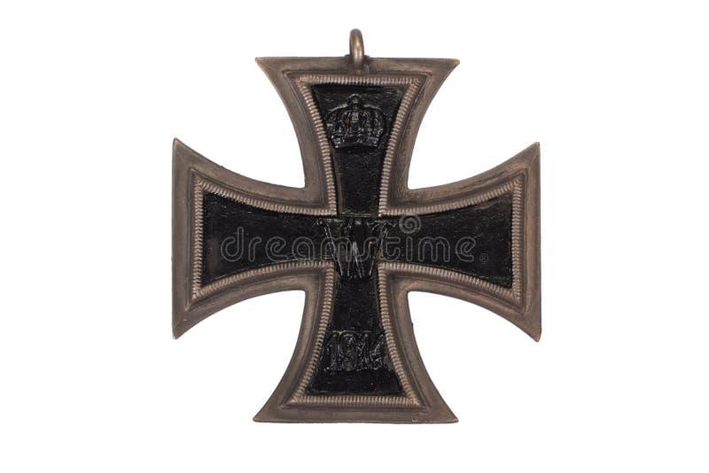 WW1德国奖牌铁十字勋章 库存照片
