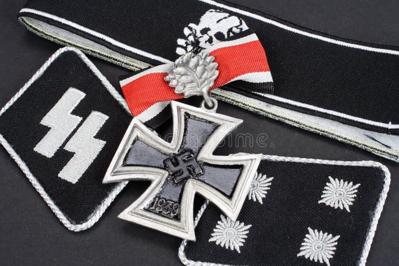 WW2德国Waffen SS军事权威 库存图片