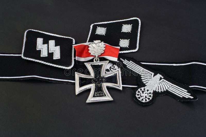 WW2德国Waffen SS军事权威 免版税库存图片