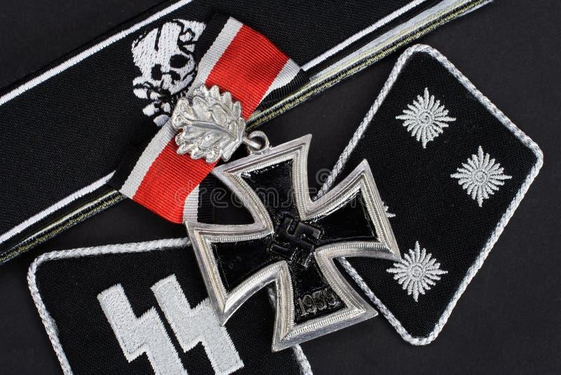 WW2德国Waffen SS军事权威 免版税图库摄影