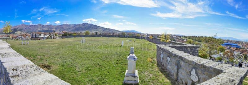 WW1 cimetière allemand - Prilep, Macédoine photo libre de droits