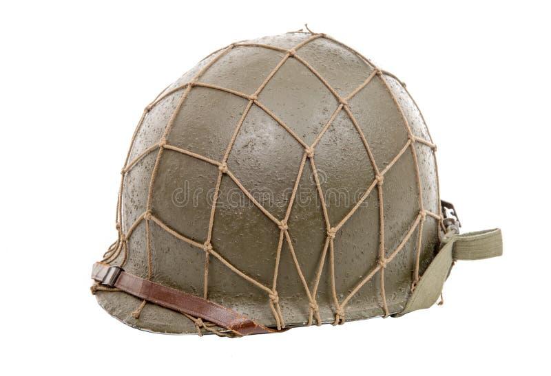 Ww2 de militaire helm van de V.S. royalty-vrije stock foto