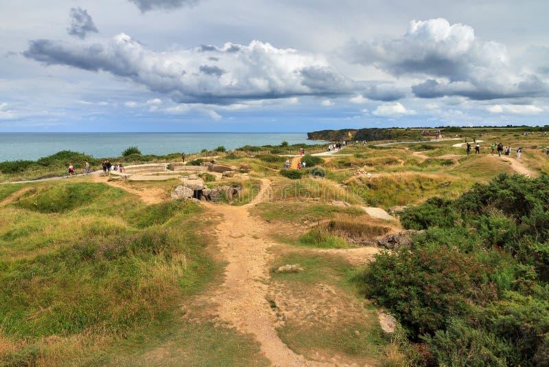 WW2 dune Normandia immagine stock libera da diritti