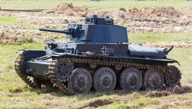 WW2 German Panzer 38 (t) Light Tank Stock Image - Image of