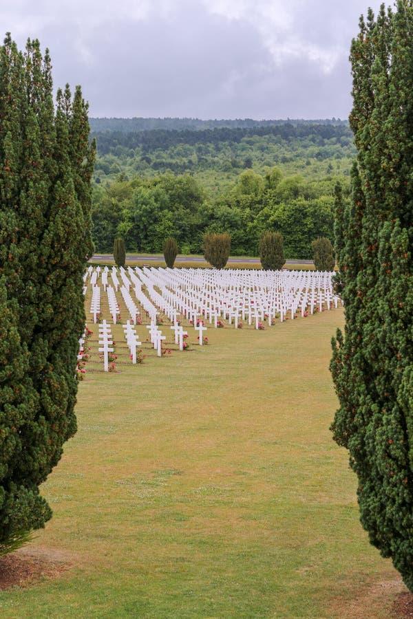 WW1 graven in België royalty-vrije stock foto
